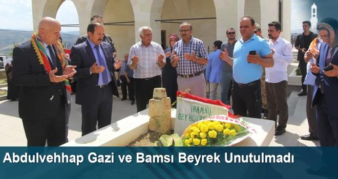 Abdulvehhap Gazi ve Bamsı Beyrek Unutulmadı