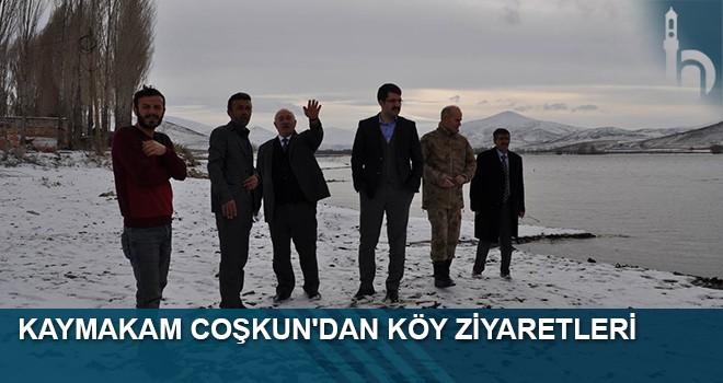 Kaymakam Coşkun'dan Köy Ziyaretleri