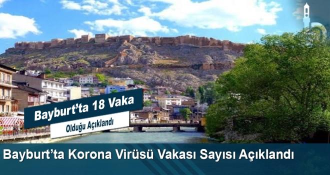 Bayburt'ta Korona Virüsü Vakası Sayısı Açıklandı