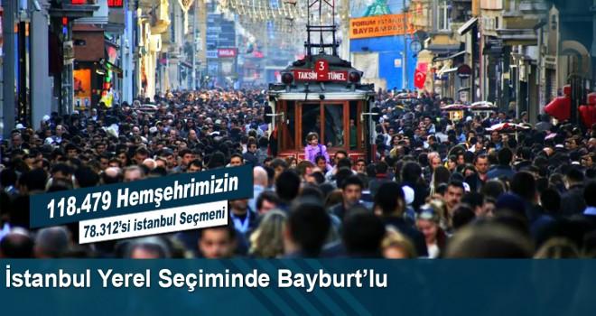 İstanbul Belediye Seçiminde Bayburt'lu
