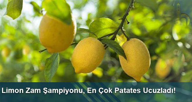 Bayburt'ta Limon Zam Şampiyonu, En Çok Patates Ucuzladı!