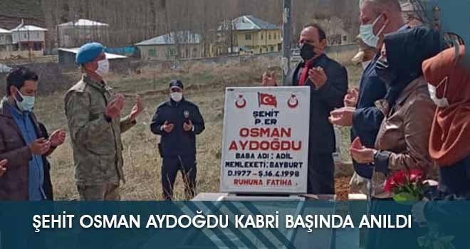 Şehit Osman Aydoğdu Kabri Başında Anıldı