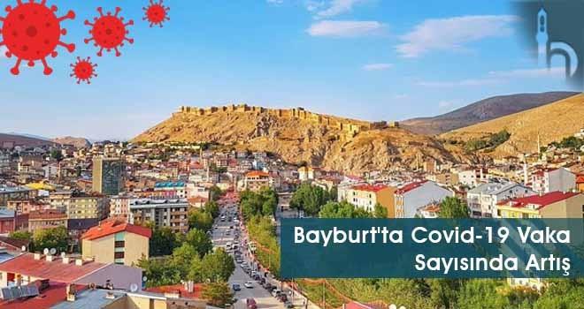 Bayburt'ta Covid-19 Vaka Sayısında Artış