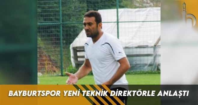 Bayburtspor Yeni Teknik Direktörle Anlaştı
