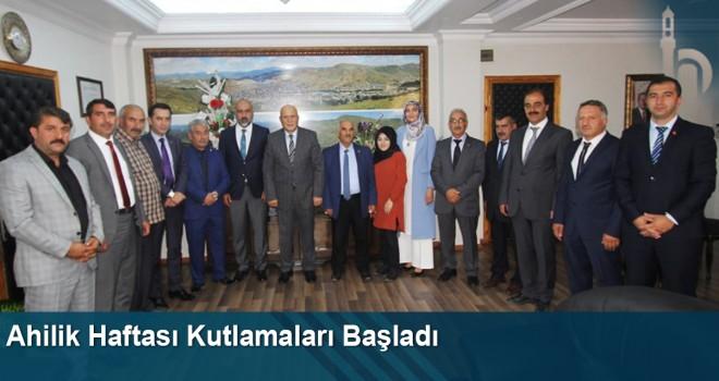 Bayburt'ta Ahilik Haftası Kutlamaları Başladı