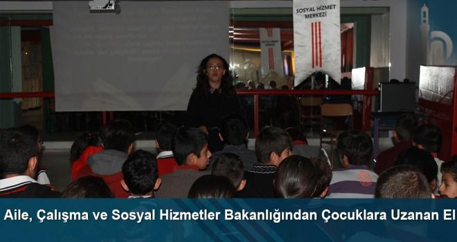Aile, Çalışma ve Sosyal Hizmetler Bakanlığından çocuklara uzanan el