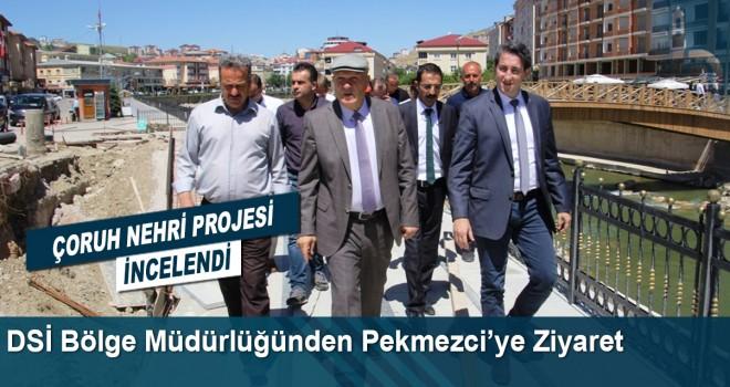 DSİ Heyetinden Başkan Pekmezci'ye Ziyaret