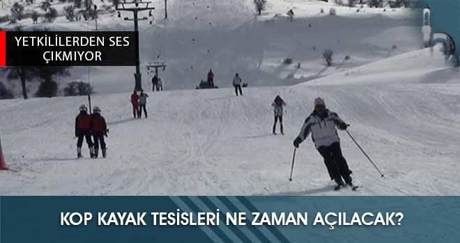 Kop Kayak Tesisleri Ne Zaman Açılacak?
