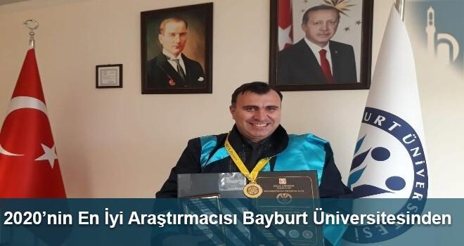2020'nin En İyi Araştırmacısı Bayburt Üniversitesinden