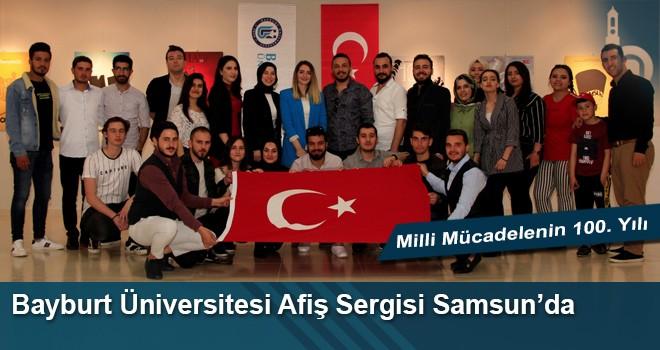 Bayburt Üniversitesi Afiş Sergisi Samsun'da