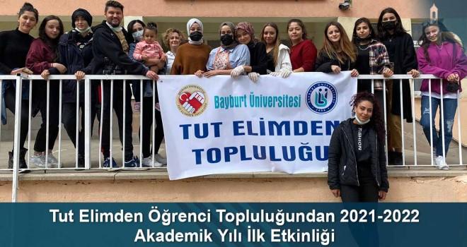 Tut Elimden Öğrenci Topluluğundan 2021-2022 Akademik Yılı İlk Etkinliği