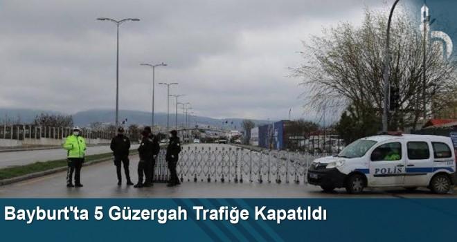 Bayburt'ta 5 Güzergah Trafiğe Kapatıldı