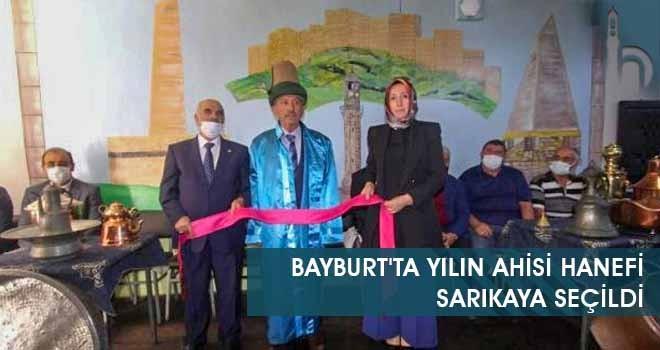 Bayburt'ta Yılın Ahisi Hanefi Sarıkaya Seçildi