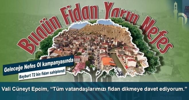 """Vali Cüneyt Epcim, """"Tüm vatandaşlarımızı fidan dikmeye davet ediyorum."""""""