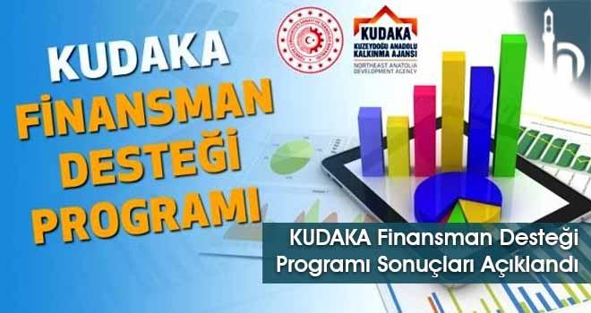 KUDAKA Finansman Desteği Programı Sonuçları Açıklandı
