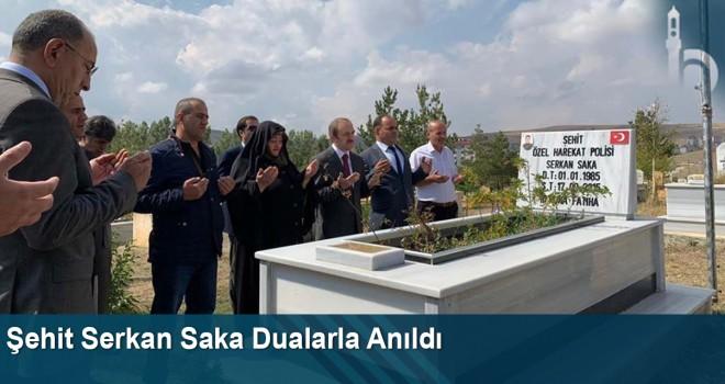 Şehit Serkan Saka Şehadetinin Yıl Dönümünde Dualarla Anıldı