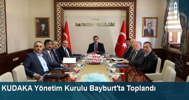 KUDAKA Yönetim Kurulu Bayburt'ta Toplandı