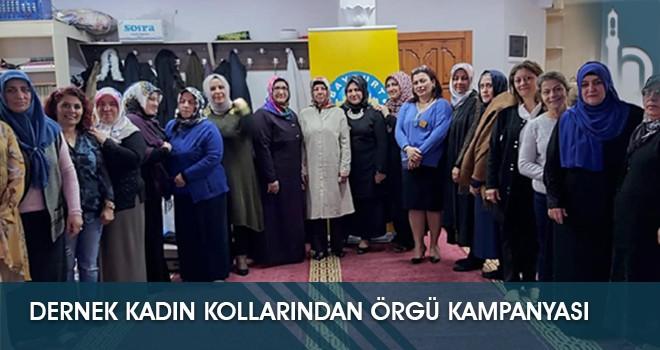 Dernek Kadın Kollarından Örgü Kampanyası