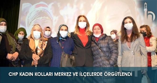 CHP Kadın Kolları Merkez ve İlçelerde Örgütlendi