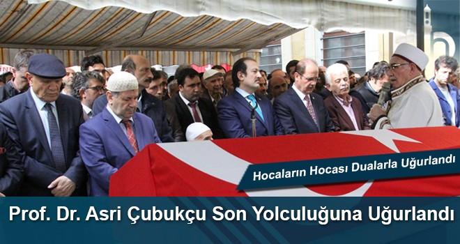Prof. Dr. Asri Çubukçu Son Yolculuğuna Dualarla Uğurlandı