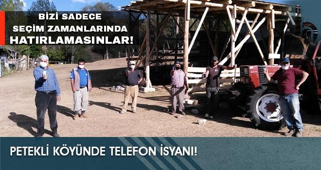 Petekli Köyünde Telefon İsyanı!