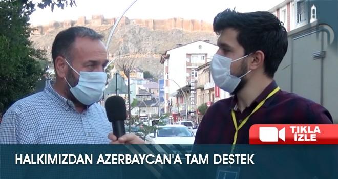 Halkımızdan Azerbaycan'a Tam Destek
