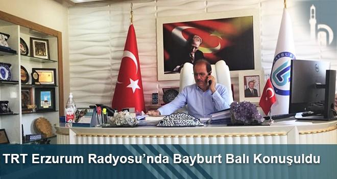 TRT Erzurum Radyosu'nda Bayburt Balı Konuşuldu