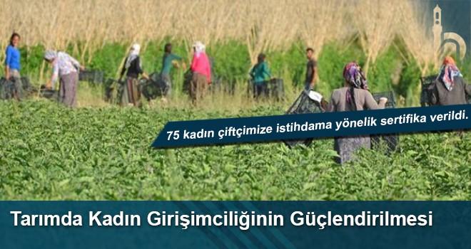Tarımda Kadın Girişimciliğinin Güçlendirilmesi