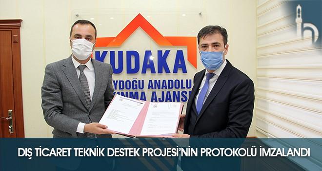 """""""Dış Ticaret Teknik Destek Projesi""""nin Protokolü İmzalandı"""