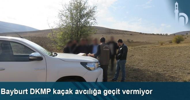 Bayburt DKMP Kaçak Avcılığa Geçit Vermiyor