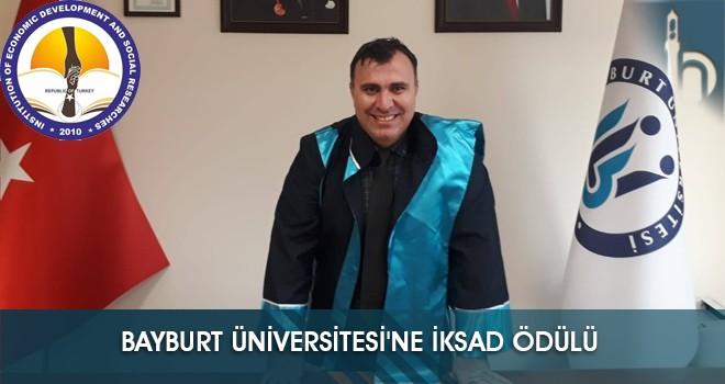 Bayburt Üniversitesi'ne İKSAD Ödülü