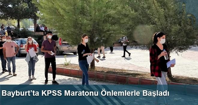 Bayburt'ta KPSS Maratonu Önlemlerle Başladı
