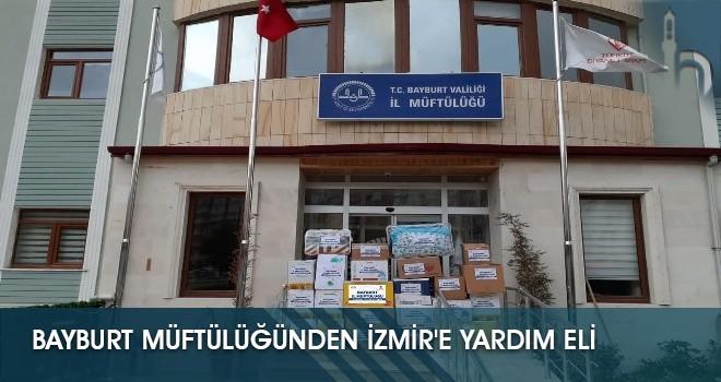 Bayburt Müftülüğünden İzmir'e Yardım Eli
