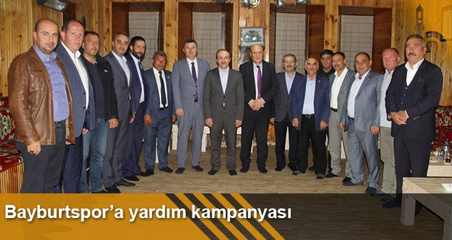 Bayburtspor'a Yardım Kampanyası