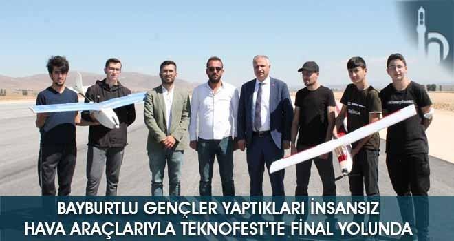 Bayburtlu Gençler Yaptıkları İnsansız Hava Araçlarıyla TEKNOFEST'te Final Yolunda