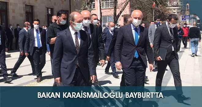 Bakan Karaismailoğlu Bayburt'ta!