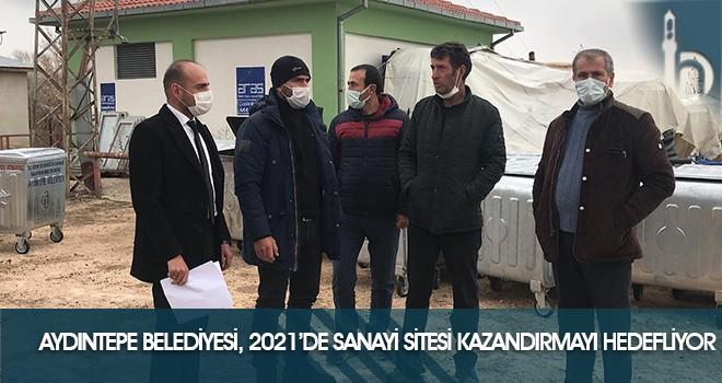 Aydıntepe Belediyesi, Küçük Sanayi Sitesi Kazandırmayı Hedefliyor