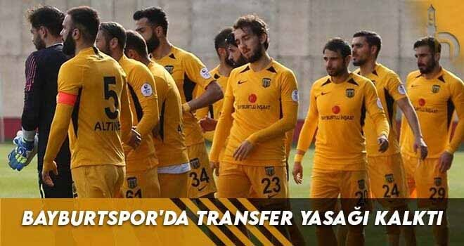 Bayburtspor'da Transfer Yasağı Kalktı