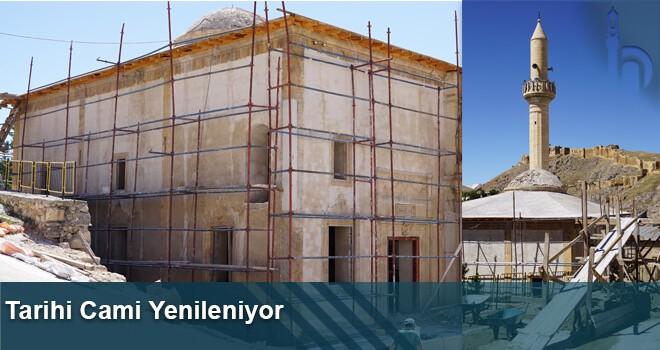 Tarihi Cami Yenileniyor