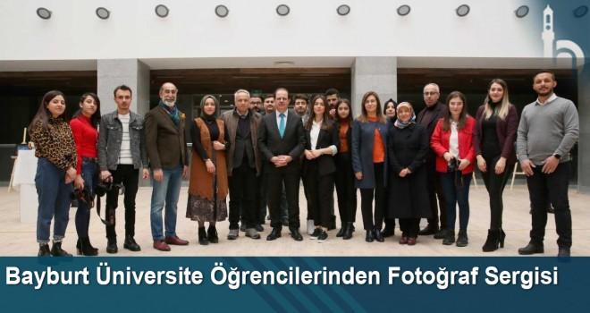 Bayburt Üniversite Öğrencilerinden Fotoğraf Sergisi
