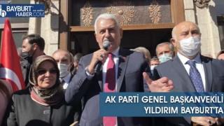 AK Parti Genel Başkanvekili Yıldırım Bayburt'ta