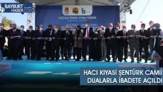 Hacı Kıyasi Şentürk Camii Dualarla İbadete Açıldı