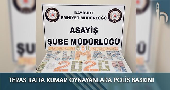 Teras Katta Kumar Oynayanlara Polis Baskını