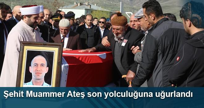 Şehit Muammer Ateş Son Yolculuğuna Uğurlandı