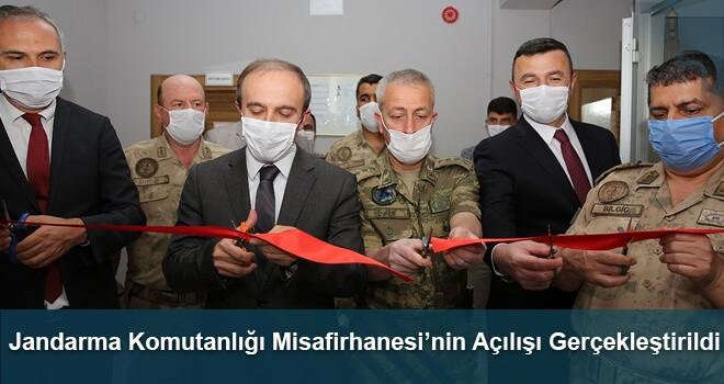 Jandarma Komutanlığı Misafirhanesi'nin Açılışı Gerçekleştirildi