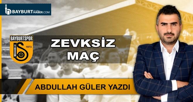 Zevksiz Maç