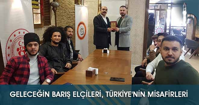 Geleceğin Barış Elçileri, Türkiye'nin Misafirleri