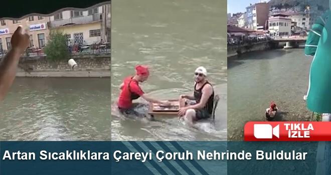 Artan Sıcaklıklara Çareyi Çoruh Nehrinde Buldular