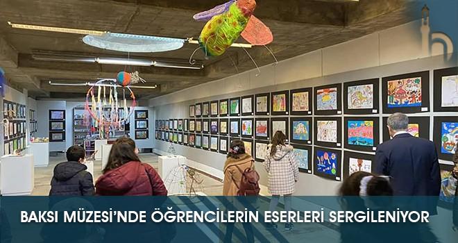Baksı Müzesi'nde Öğrencilerin Eserleri Sergileniyor