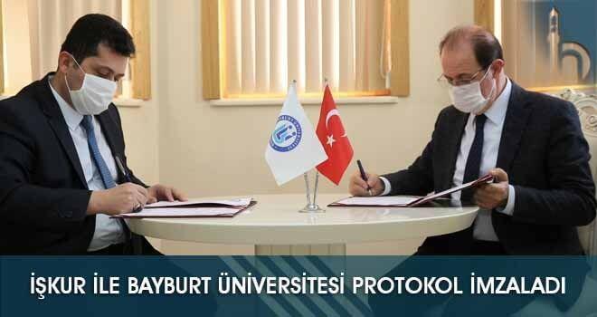 İşkur ile Bayburt Üniversitesi Protokol İmzaladı